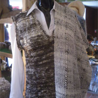 Handcrafted woolen clothes